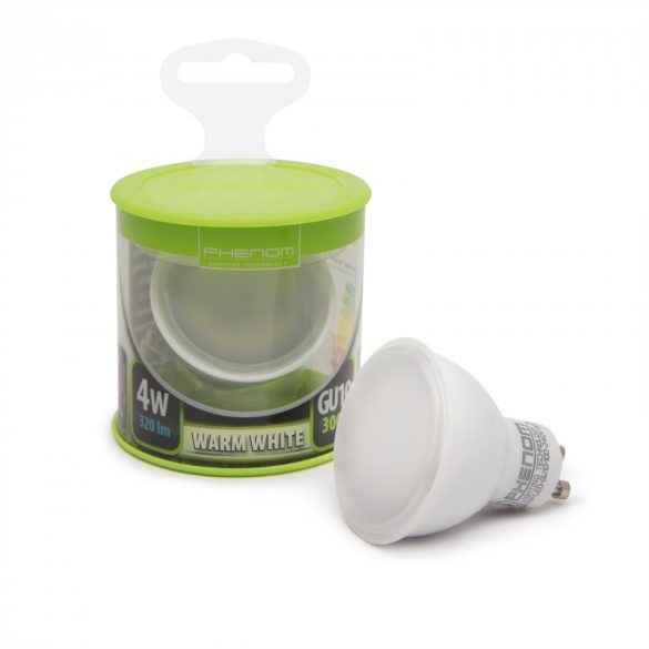 Phenom LED izzó 4W GU10 meleg fehér