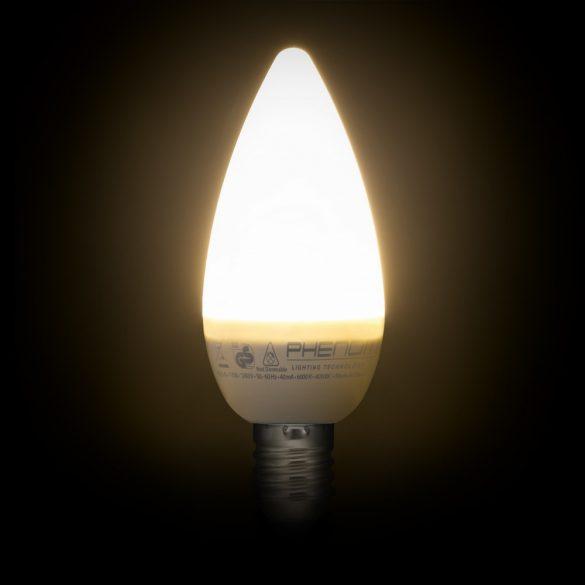Phenom LED izzó 4W E14 meleg fehér
