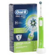 Oral-B Pro 400 zöld elektromos fogkefe