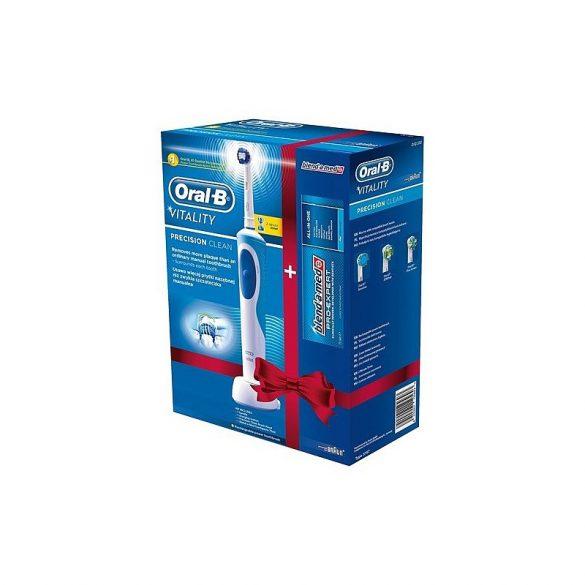 Oral-B Vitality D12 + 75ml Blend-a-med fogkrém