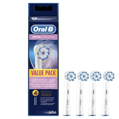 Oral-B Sensi UltraThin EB 60-4 fogkefefej (4db)
