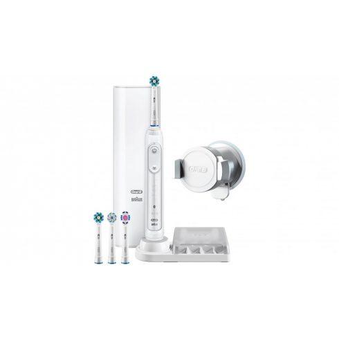 Oral-B Genius 9000 elektromos fogkefe helyzetérzékelővel, fehér