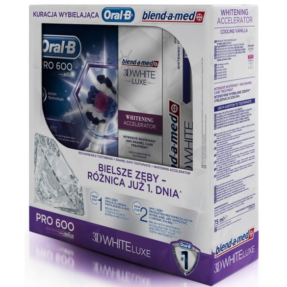 Oral-B PRO 600 Whitening pack