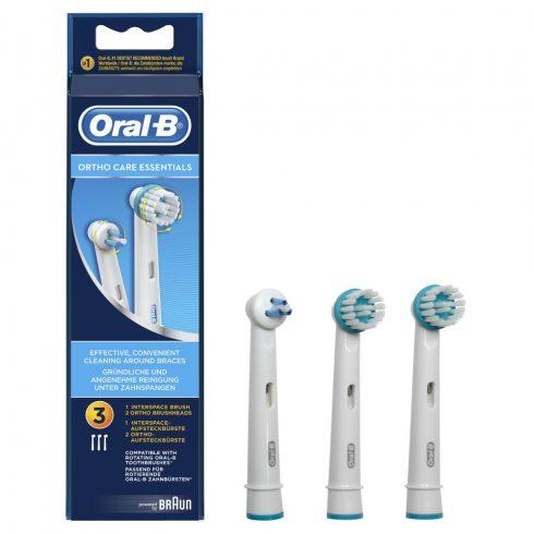Oral-B OD17 Ortho Care Kit pótfej (3db)