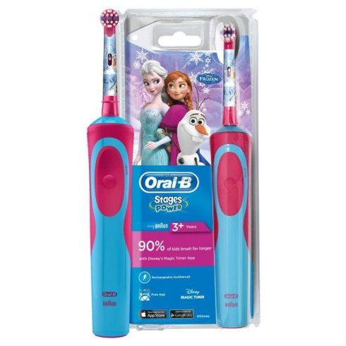 Oral-B Vitality Frozen D12.513 gyermek elektromos fogkefe