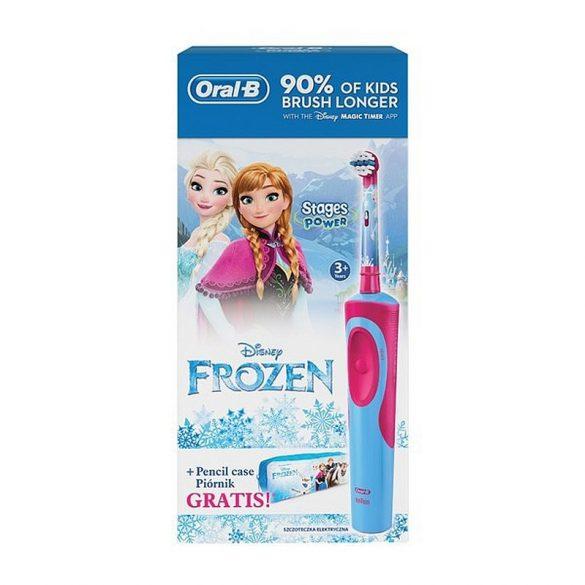Oral-B Vitality Frozen D12.513 gyerek elektromos fogkefe + ceruzatartó