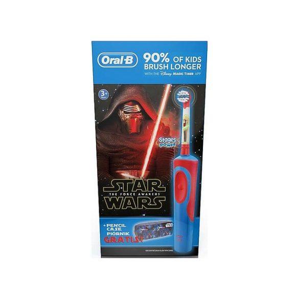 Oral-B Vitality Star Wars D12.513 gyerek elektromos fogkefe + ceruzatartó