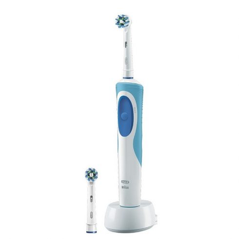 Oral-B Vitality Plus Cross Action elektromos fogkefe 2 db pótfejjel