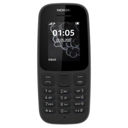 Nokia 105 (2017) DualSim kártyafüggetlen mobiltelefon, fekete