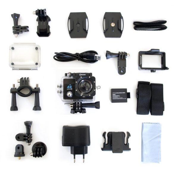 Quazar Blackbox UltraHD Wifi sportkamera/akciókamera + 1db ajándék akkumulátorral