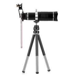 Quazar Mobilescope Zoom 20x Teleobjektív okostelefonokhoz mini fotóállvánnyal