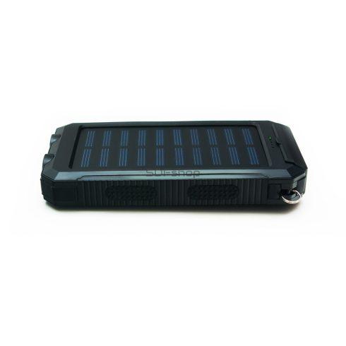 Quazar Q-Solar Cell Powerbank Hordozható napelemes külső akkumulátor, vésztöltő