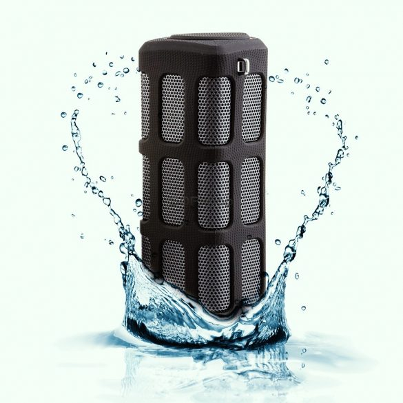 Quazar Loudbox Speaker HIFI minőségű Bluetooth hangszóró powerbankkel