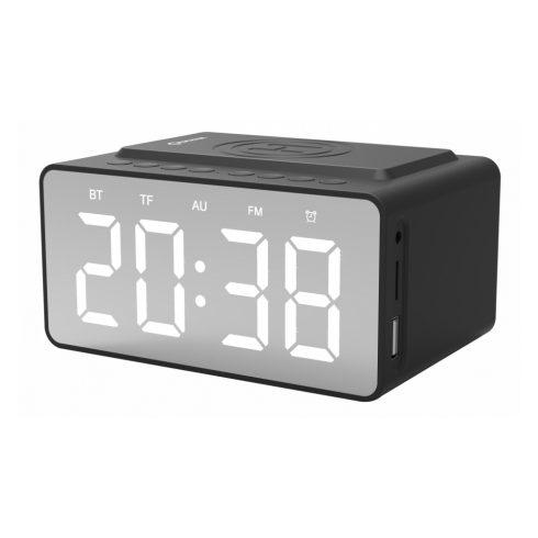 Quazar Speaker Clock Wireless Charger