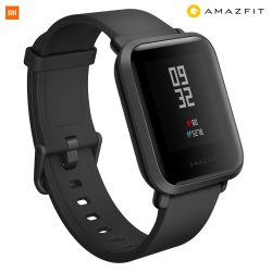 Xiaomi Amazfit Bip GPS-es fitness okosóra, fekete