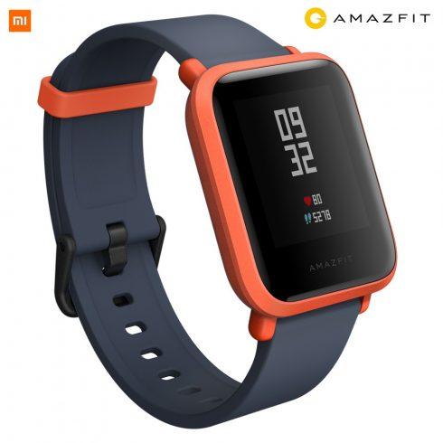 Xiaomi Amazfit Bip GPS-es fitness okosóra, narancs