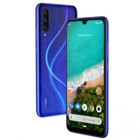 Xiaomi Mi A3 4/64 kártyafüggetlen okostelefon, not just blue + 1db üvegfólia