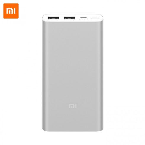 Xiaomi Mi Power Bank 2S 10000 mAh külső akkumulátor, ezüst