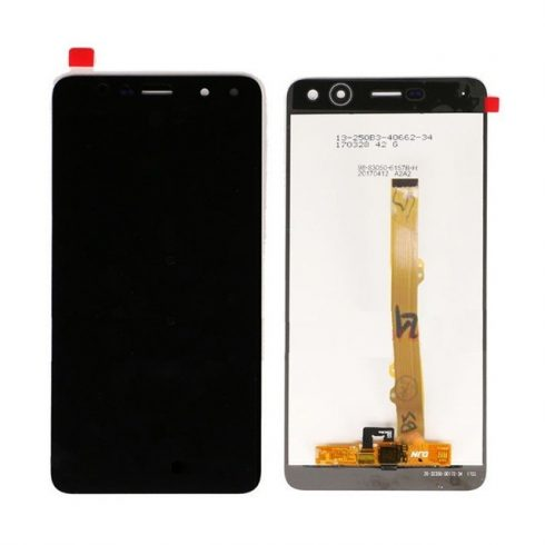 Huawei Ascend Y5 (2017) / Y6 (2017) fekete LCD kijelző érintővel