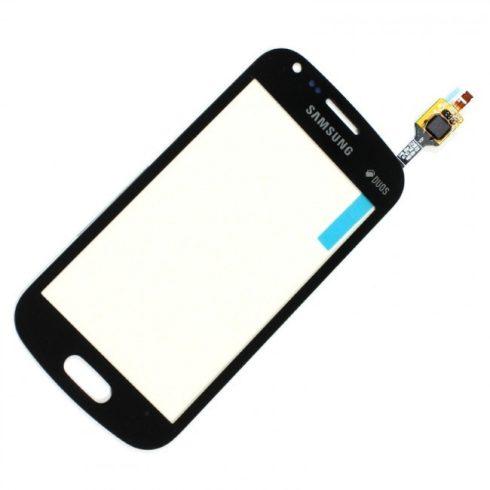 Samsung S7580 Galaxy Trend Plus fekete érintő