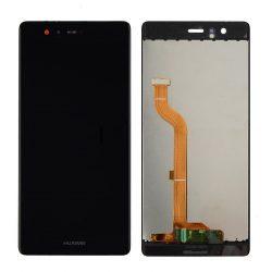 Huawei Ascend P9 fekete LCD kijelző érintővel