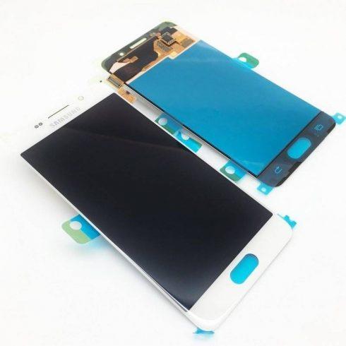 Samsung J320F Galaxy J3 (2016) fehér gyári LCD kijelző érintővel keret nélkül