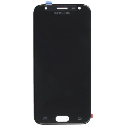 Samsung J330 Galaxy J3 (2017) fekete gyári LCD kijelző érintővel keret nélkül