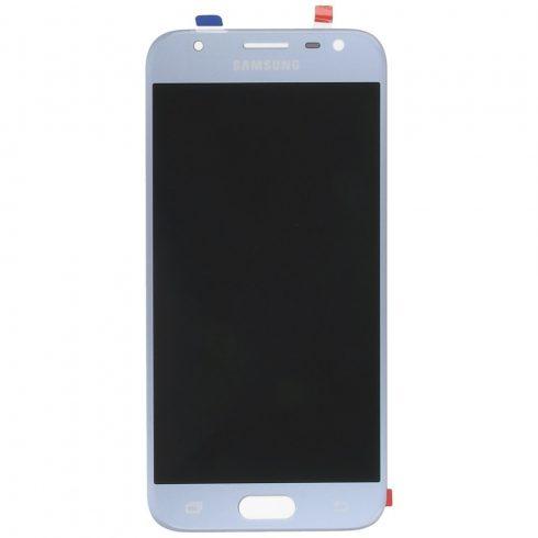 Samsung J330 Galaxy J3 (2017) ezüst gyári LCD kijelző érintővel keret nélkül