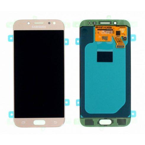 Samsung J530 Galaxy J5 (2017) arany gyári LCD kijelző érintővel keret nélkül