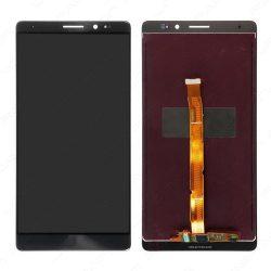 Huawei Mate 8 fekete LCD kijelző érintővel