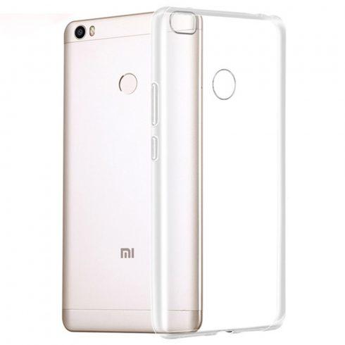 Xiaomi Mi Max átlátszó vékony szilikon tok