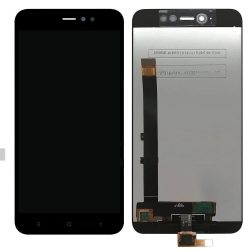 Xiaomi Redmi Note 5A Global / Note 5A Prime fekete LCD kijelző érintővel