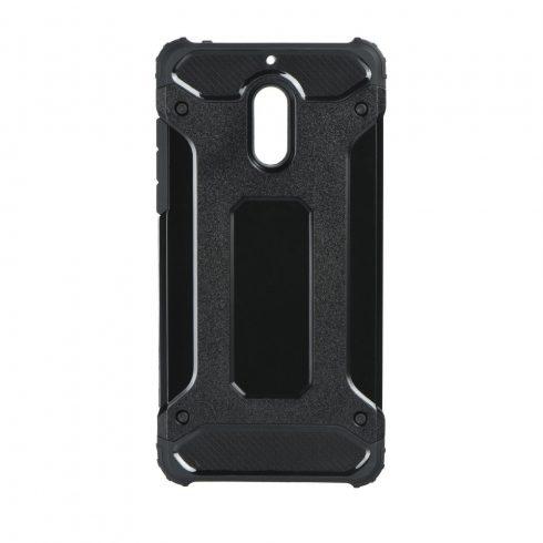 Forcell Armor Nokia 6 ütésálló szilikon/műanyag tok fekete