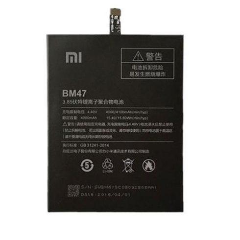 Xiaomi BM47 gyári akkumulátor 4000mAh (Redmi 3, 3S, 3X, 4X)