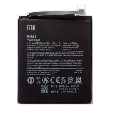 Xiaomi BN41 gyári akkumulátor 4100mAh (Redmi Note 4)