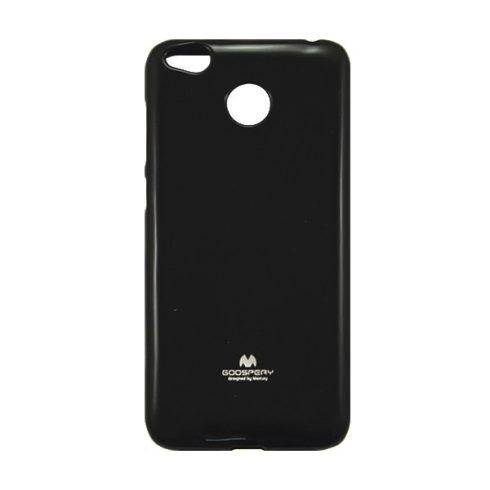 Mercury Soft Xiaomi Redmi 4X puha tapintású matt szilikon hátlapvédő, fekete