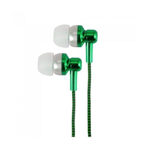 Astrum EB250 zöld sztereó headset mikrofonnal, prémium hangzással