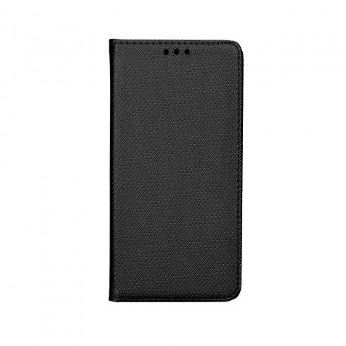Xiaomi Redmi Note 9S / 9 Pro oldalra nyíló könyv tok, fekete