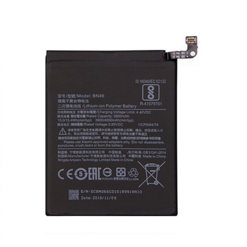 Xiaomi BN46 gyári akkumulátor 4000mAh (Redmi Note 6)