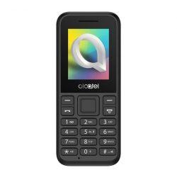 Alcatel 1066G  kártyafüggetlen mobiltelefon, fm rádiós, fekete