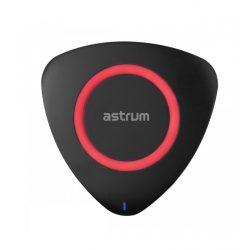 Astrum CW200 Qi 2.0 töltő 5W, fekete-piros