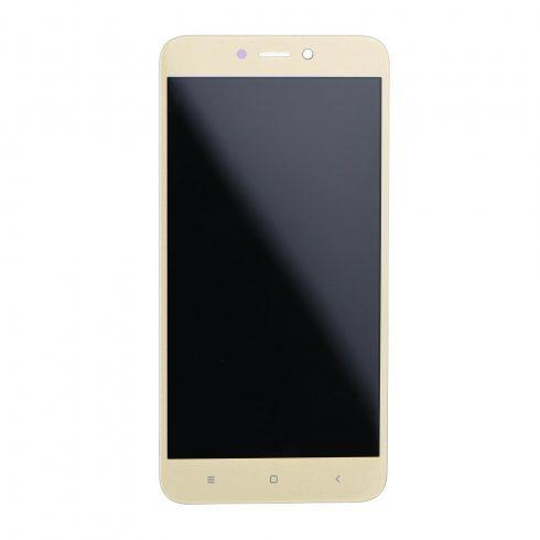 Xiaomi Redmi 4X arany LCD kijelző érintővel