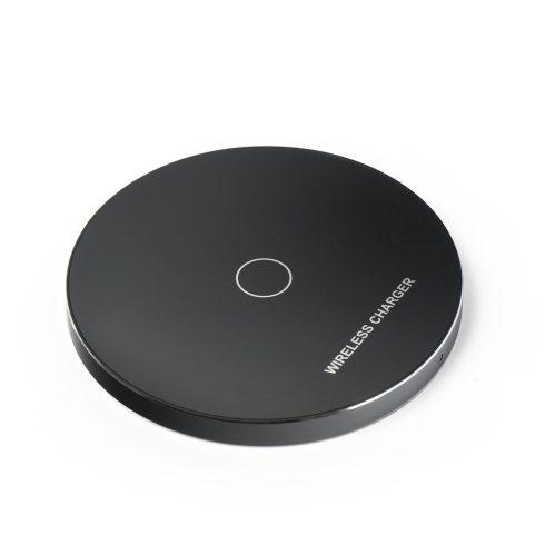 KD01 Gyors vezeték nélküli Qi töltő, fekete