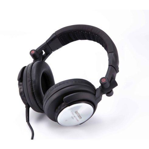 Astrum HS236 Professional DJ Pro sztereó fejhallgató nagy bőr hangsugárzókkal