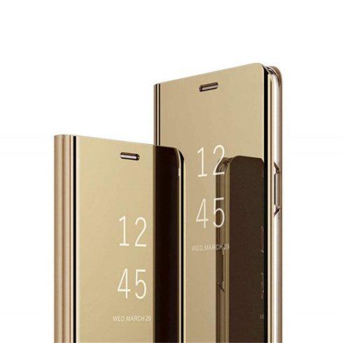 Xiaomi Mi 9T / Mi 9T Pro (Redmi K20/Redmi K20 pro) clear view oldalra nyíló okos tok, arany