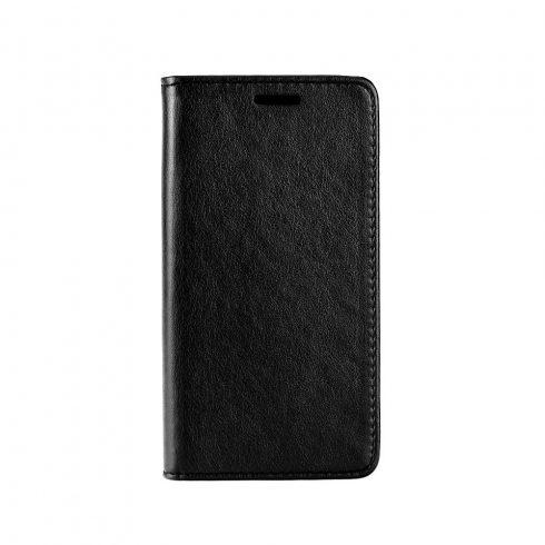 Xiaomi Mi 8 mágneses oldalra nyíló könyv tok, műbőr, fekete