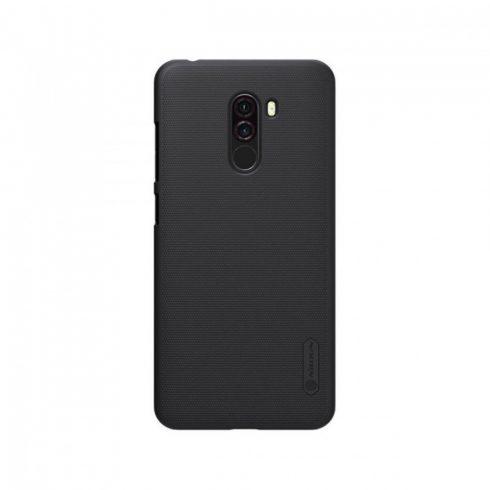 Xiaomi Pocophone F1 tok, Nillkin Super Frosted Shield, fekete