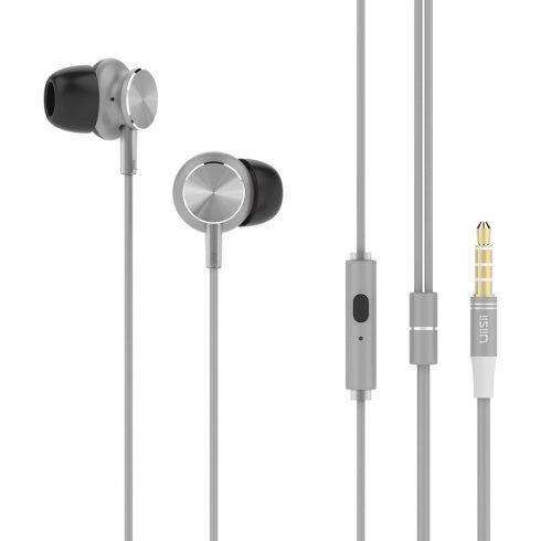 UiiSii GT500 Premium Sound In-ear fülhallgató 3,5mm, ezüst