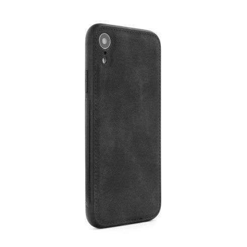 Forcell Denim Xiaomi Redmi 6A farmer hatású kemény tok, fekete