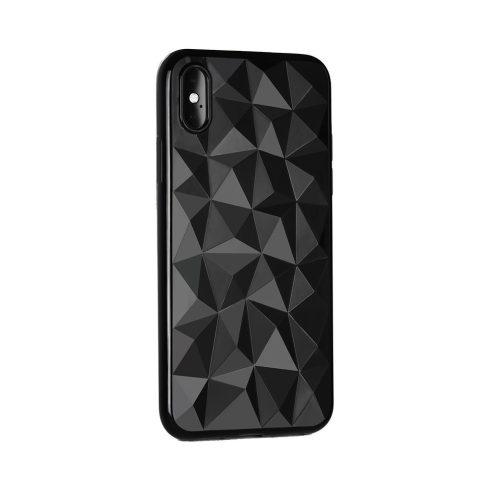 Forcell Prism Xiaomi Redmi 6 fekete szilikon tok, prizma minta
